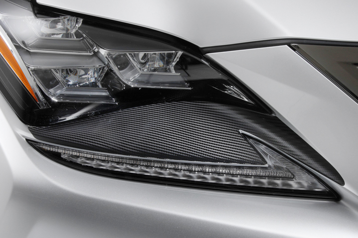 TOMS Racing Online Shop]Carbon sheet for Headlight for Lexus RC F