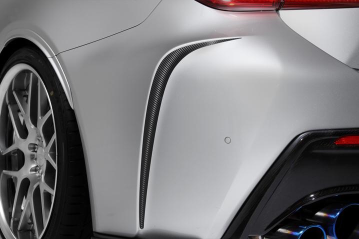 TOMS Racing Online Shop]Carbon Sheet for Rear Bumper for Lexus RC F